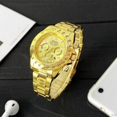 Наручные часы Rolex Daytona Quartz Date All Gold