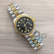 Наручные часы Rolex Date Just New Silver-Gold-Black