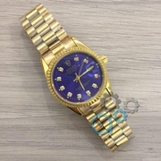 Наручные часы Rolex Date Just New Gold-Blue