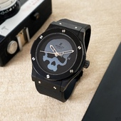 Наручные часы Hublot Skull Bang Automatic Black/Black - Grey