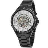 Наручные часы Winner 8067 Black-White Red Cristal