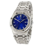 Наручные часы Audemars Piguet Royal Oak Quartz Silver-Blue