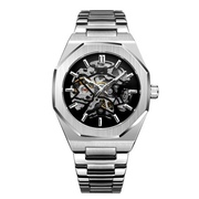 Наручные часы Gusto Skeleton Silver-Black