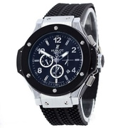Наручные часы Hublot Automatic Silver-Black