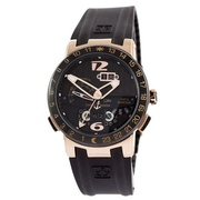 Наручные часы Ulysse Nardin Executive El Toro GMT Perpetual Black-Gold-Black