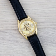 Наручные часы Omega Black-Gold-Gold Diamonds