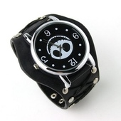Часы Evil Smile Lather watch Black
