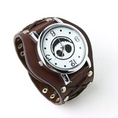 Часы Evil Smile Lather watch Brown