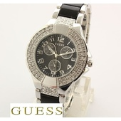 Часы Guess double diamond Black