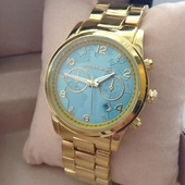 Часы наручные Michael Kors Hunter stop classic light blue