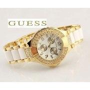 Часы Guess double diamond GOLD