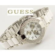 Часы Guess double diamond Silver