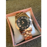 Часы наручные Marc by Marc Jacobs with crystal Logo Bronze with black