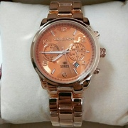 Часы наручные Michael Kors Hunter stop rose gold orange