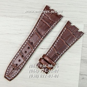 Ремешок Audemars Piguet 27/18 Brown-White