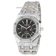 Кварцевые наручные часы Audemars Piguet Royal Oak Chronograph Steel Silver-Black