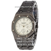Кварцевые наручные часы Audemars Piguet Royal Oak Chronograph Steel Black-White