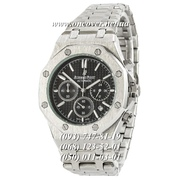 Кварцевые наручные часы Audemars Piguet Royal Oak Chronograph Silver-Black