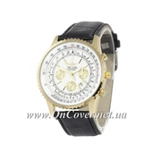 Кварцевые часы Breitling Chronometre Navitimer Black/Gold/White
