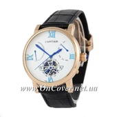 Наручные часы Cartier Ronde Solo De Cartier Black/Gold/White