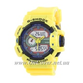 Спортивные часы Casio G-Shock GA-400-1 Yelloy/Black/Blue