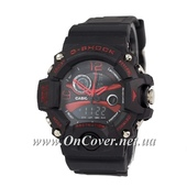 Спортивные часы Casio G-Shock Triple Sensor Black/Red