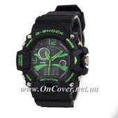 Спортивные часы Casio G-Shock Triple Sensor Black/Green