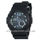 Наручные часы Casio G-Shock GA-150 Black/Black-Green