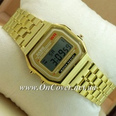 Наручные часы Casio F-91W Water Resist Gold