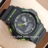 Наручные часы Casio G-Shock GA-300 Black/Green