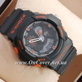 Наручные часы Casio G-Shock GA-300 Black/Orange