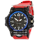 Кварцевые наручные часы Casio G-Shock GWG-1000 Black-Blue Red Wristband New