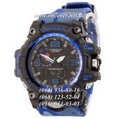 Наручные часы Casio G-Shock GWG-1000 Black-Blue Militari Wristband New