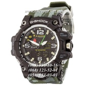 Наручные часы Casio G-Shock GWG-1000 Black-Green Militari Wristband New