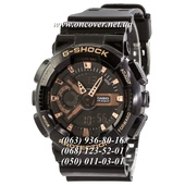 Наручные часы Casio G-Shock GA-110 Black-Cuprum