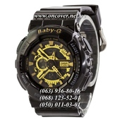 Наручные часы Casio Baby-G GA-110 Black-Gold