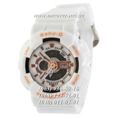 Наручные часы Casio Baby-G GA-110 White-Orange