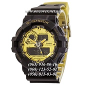 Наручные часы Casio G-Shock GA-700 Black-Gold