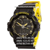Наручные часы Casio G-Shock GA-700 Black-Yellow