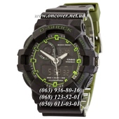 Наручные часы Casio G-Shock GA-700 Black-Green