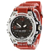 Наручные часы Casio G-Shock GST-1000 Black-Silver Red Wristband