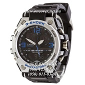 Наручные часы Casio G-Shock GST-1000 Black-Silver-Blue