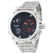 Наручные часы Diesel Steel Brave 2221 Silver-Black-Red