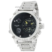 Наручные часы Diesel Steel Brave 2221 Silver-Black-Yellow