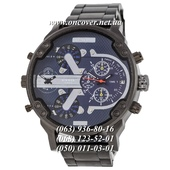 Наручные часы Diesel DZ7314 Steel Black-Blue-Silver