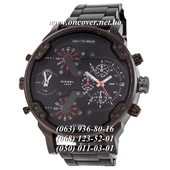 Наручные часы Diesel DZ7314 Steel All Black-Orange