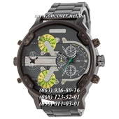Наручные часы Diesel DZ7314 Steel All Black-Gray-Green