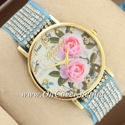 Наручные часы Geneva Women Light BlueGold