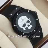 Часы наручные Hublot Skull Bang Quartz Black/Black