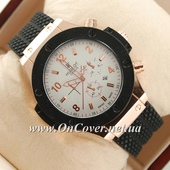 Наручные часы Hublot Big Bang Black/White/Gold Glass